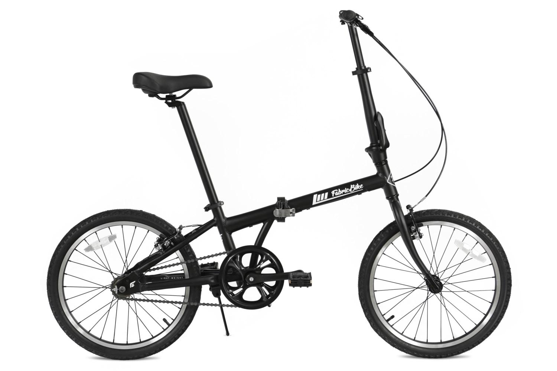 Folding Bike Black FabricBike