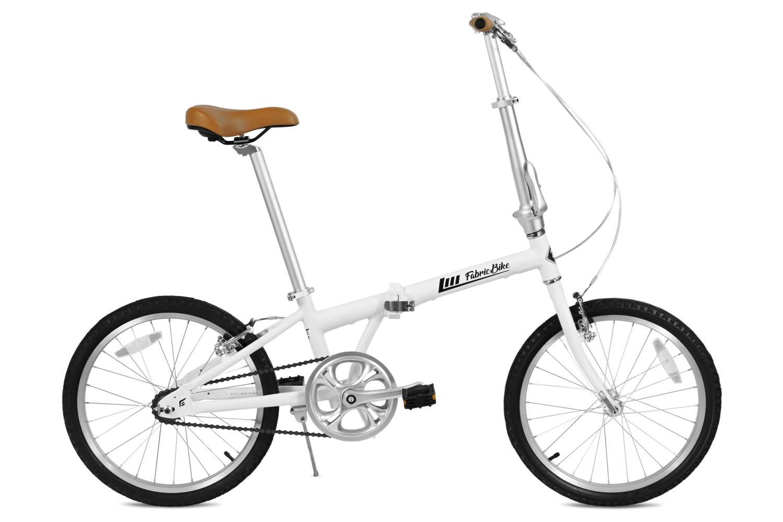 Folding Bike White FabricBike