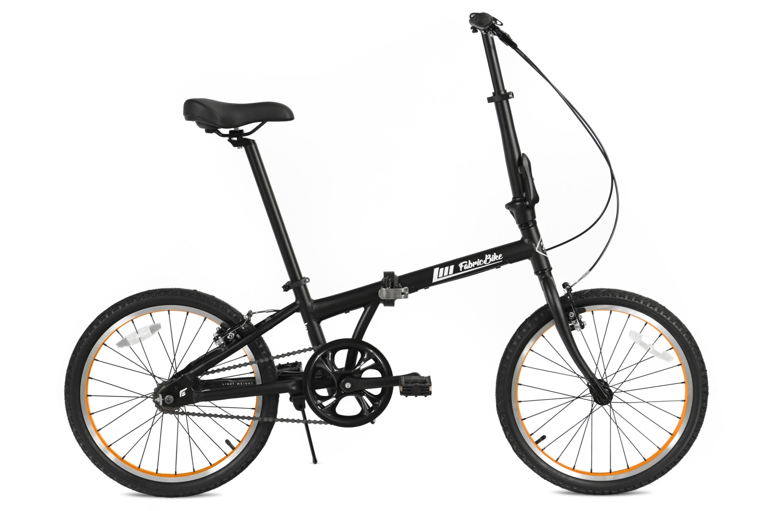 Folding Bike Black & Orange FabricBike
