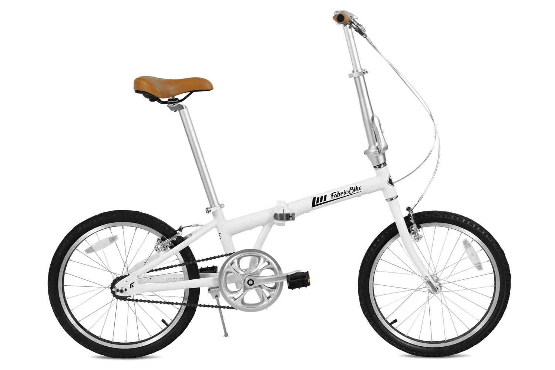 Folding Bike Grey FabricBike