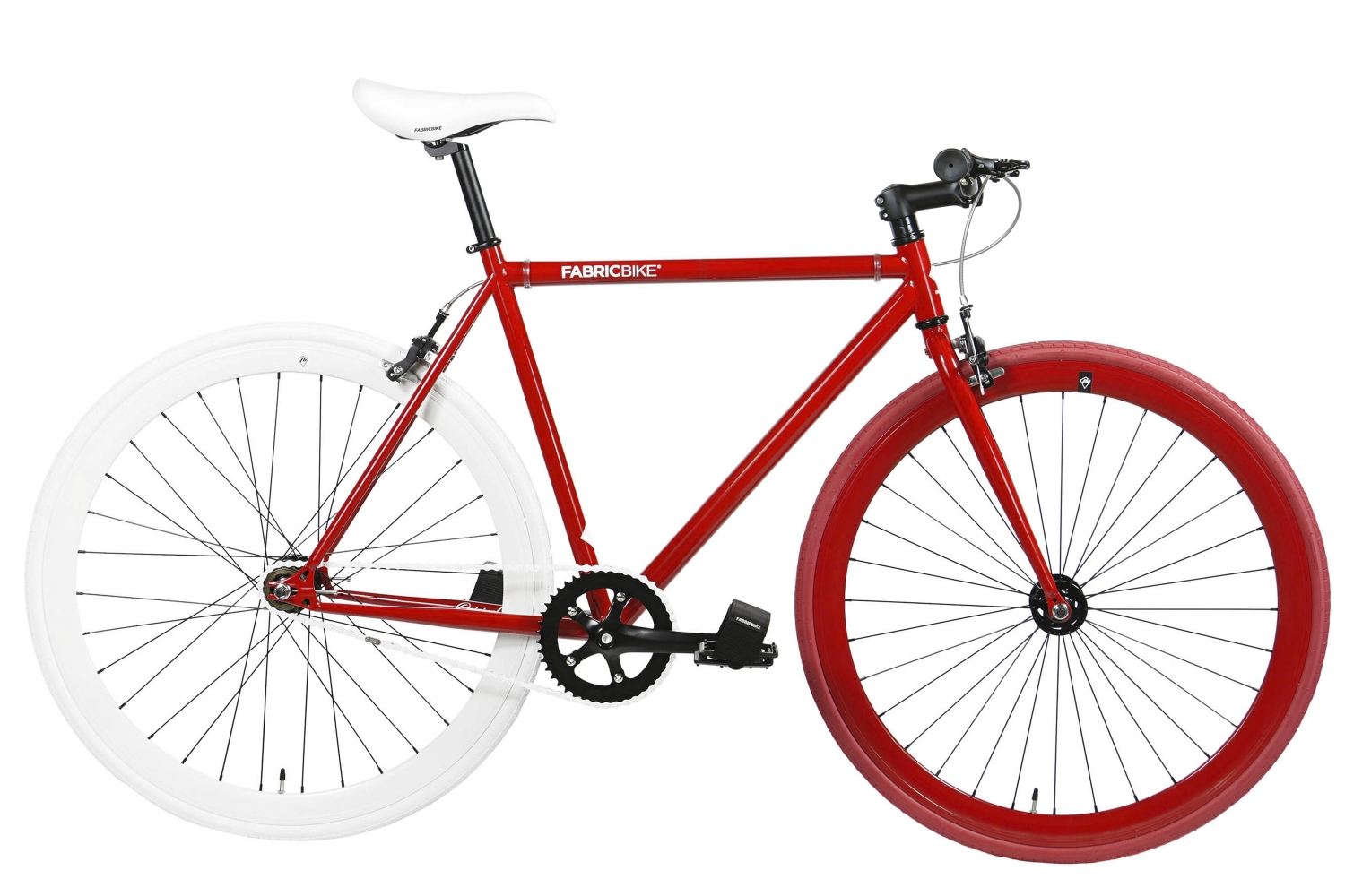 Bici Fixie Original Red & White 2.0