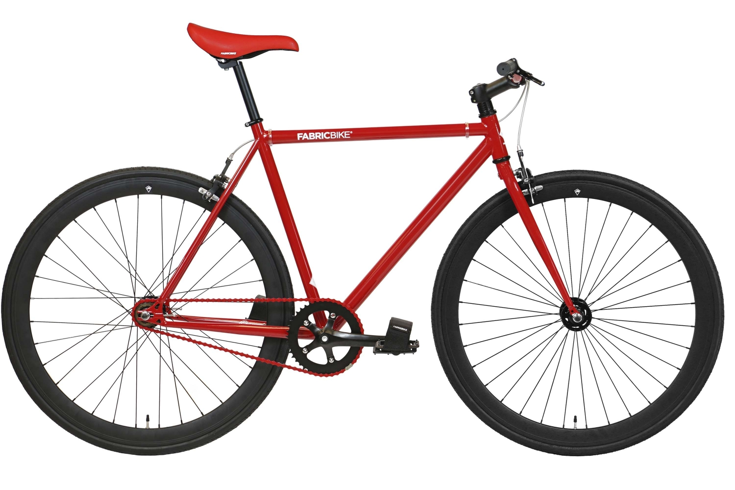 Bici Fixie Original Red & Matte Black