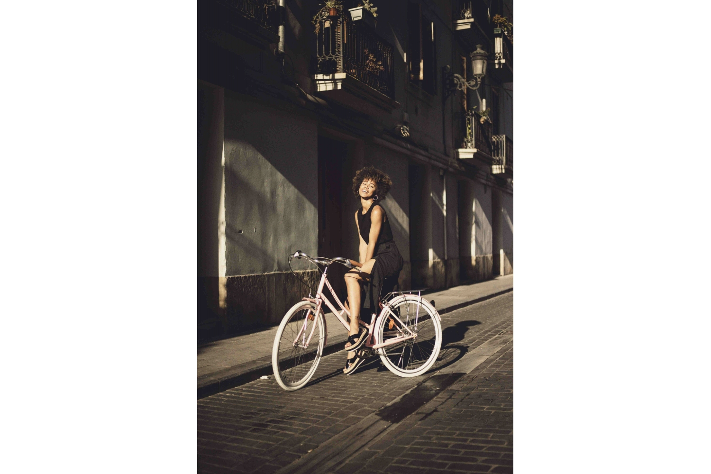 Bicicleta Paseo Mujer 3V Rosa