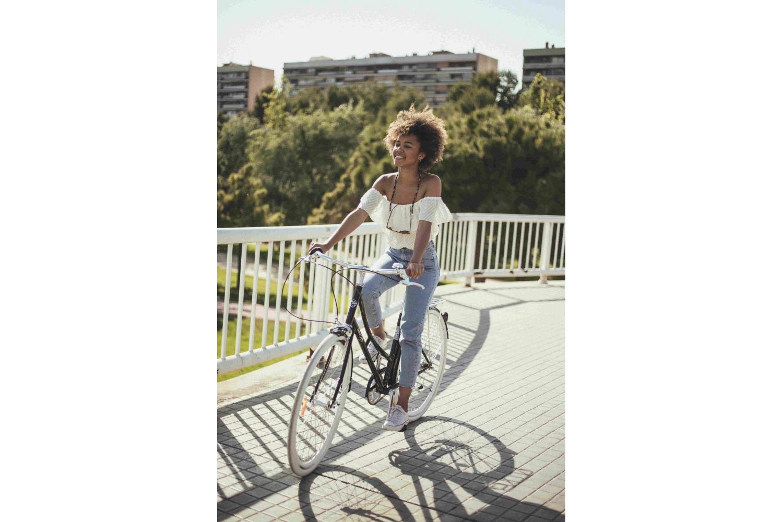 Bicicleta Paseo Mujer 3V Negra