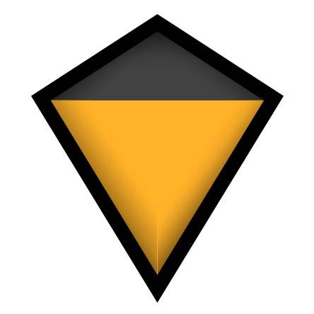 Matte Black & Rear Orange