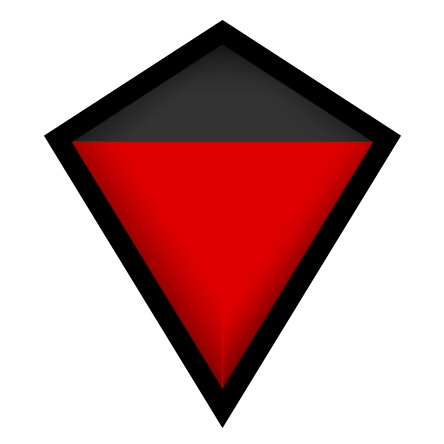 Matte Black & Red
