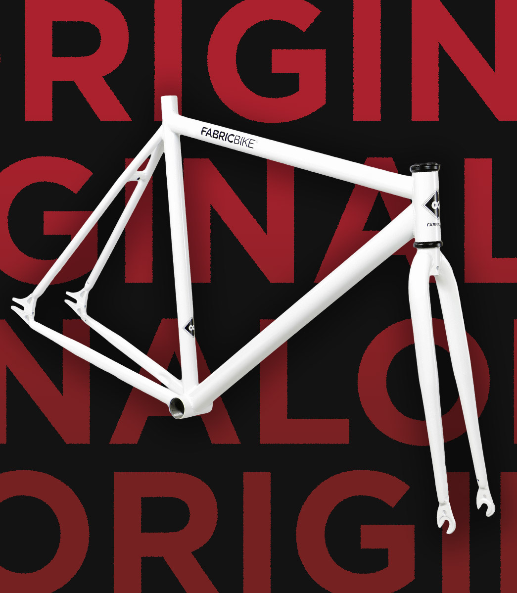 Fixie bike frameset
