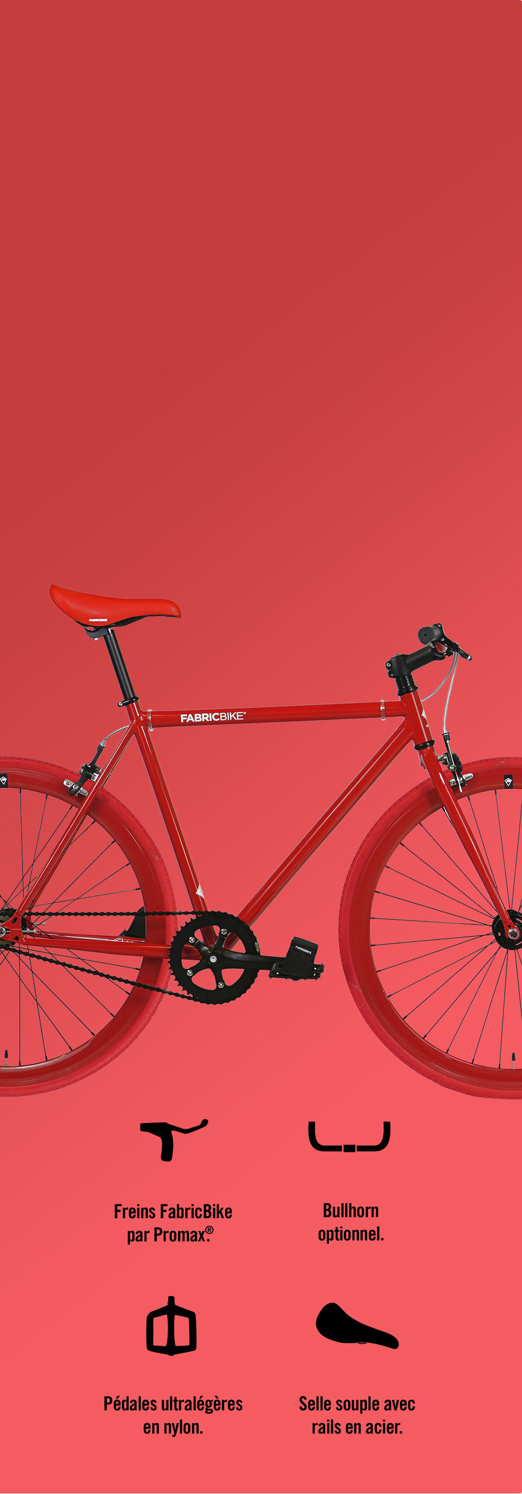 Customize your fixie bike