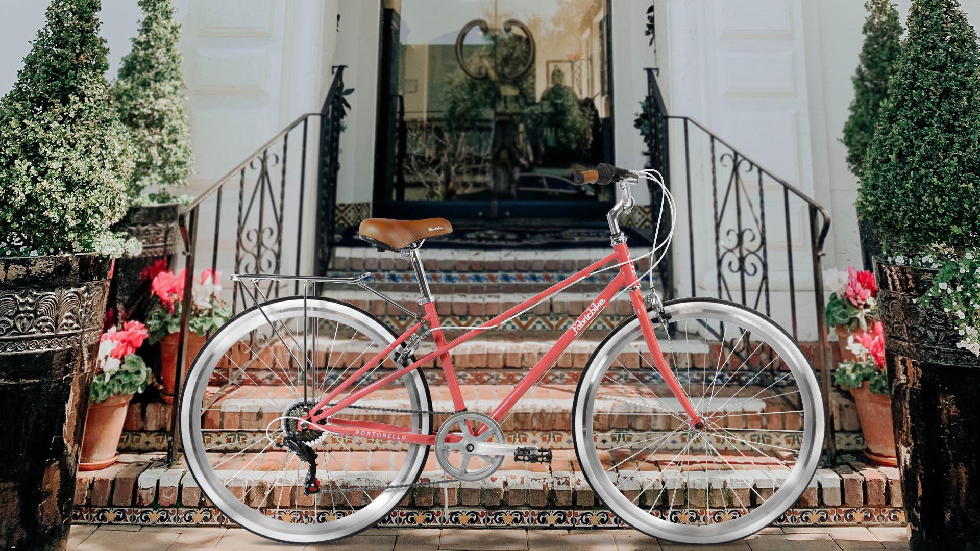 Bike Step City Woman